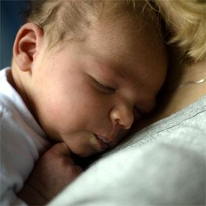 Rachel's baby Dawn