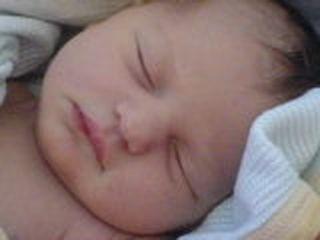 Hattie Jane at 3 weeks